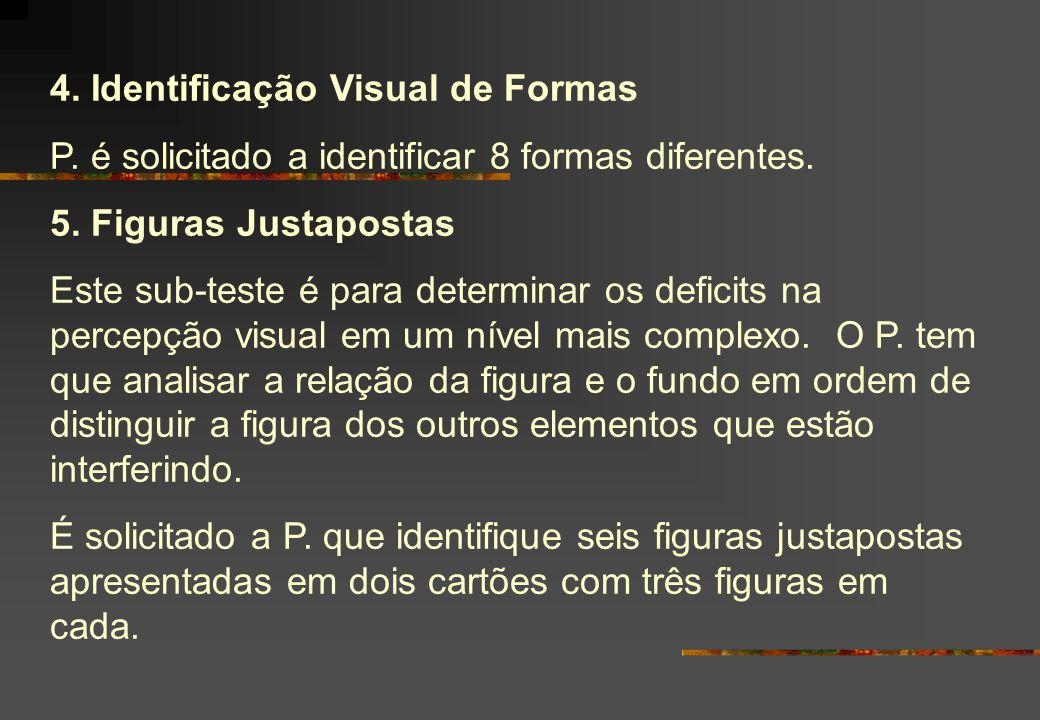 4. Identificação Visual de Formas