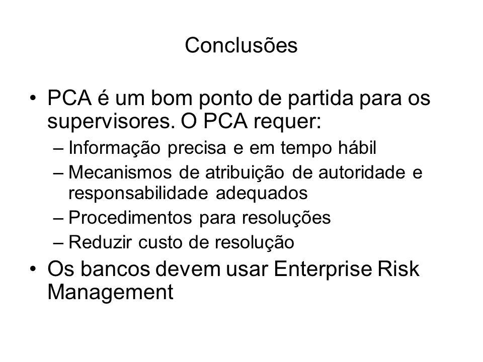 PCA é um bom ponto de partida para os supervisores. O PCA requer: