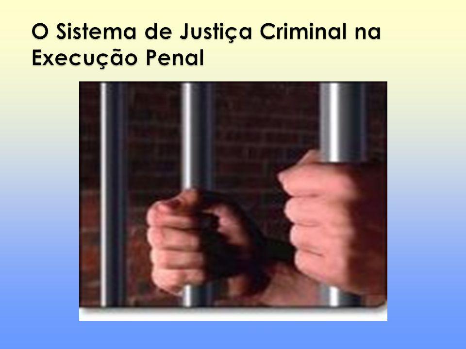 O Sistema de Justiça Criminal na Execução Penal