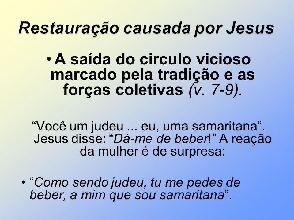 Restauração causada por Jesus