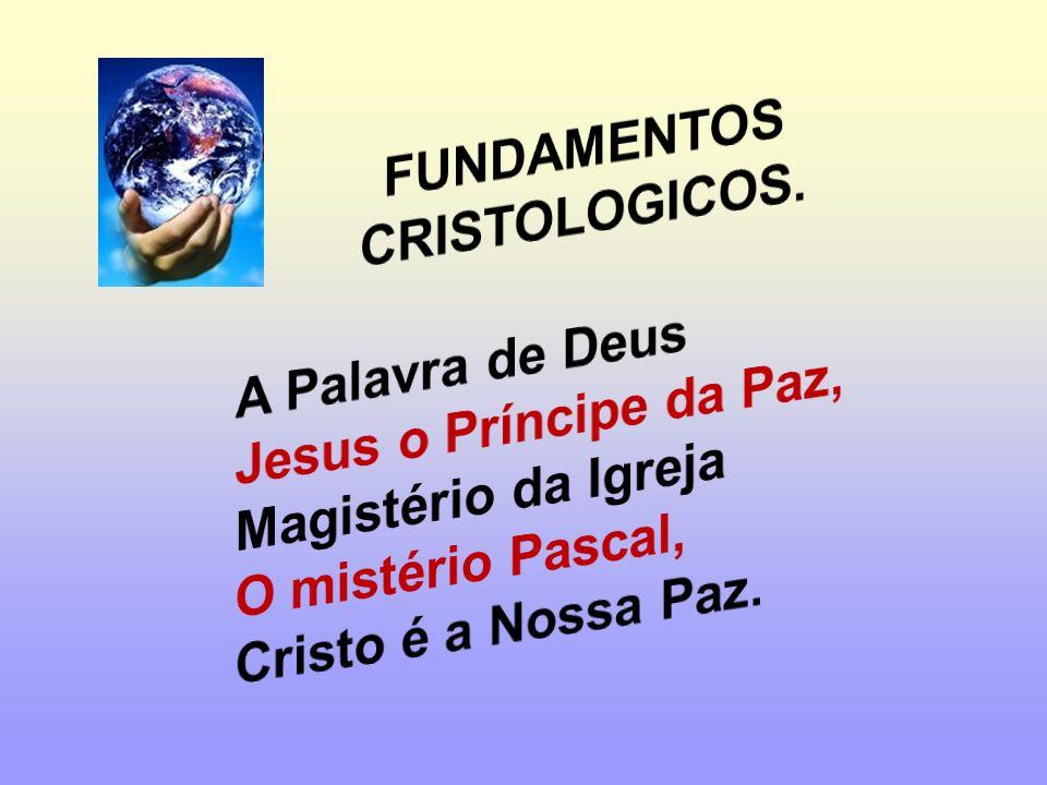 FUNDAMENTOS CRISTOLOGICOS.