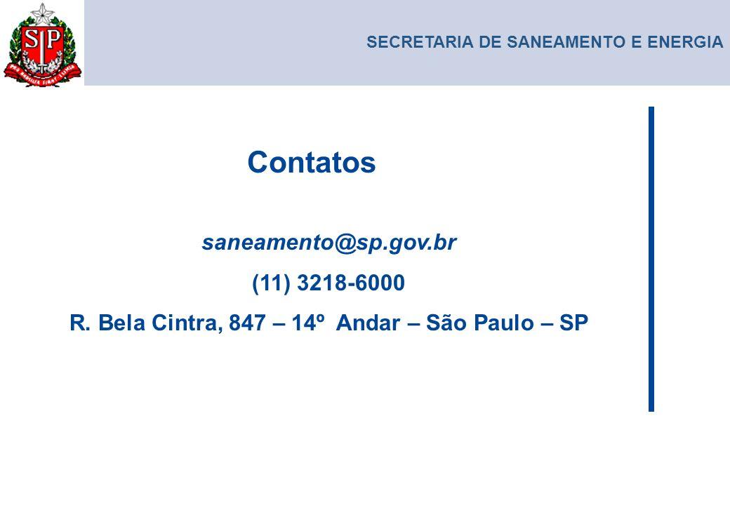 R. Bela Cintra, 847 – 14º Andar – São Paulo – SP