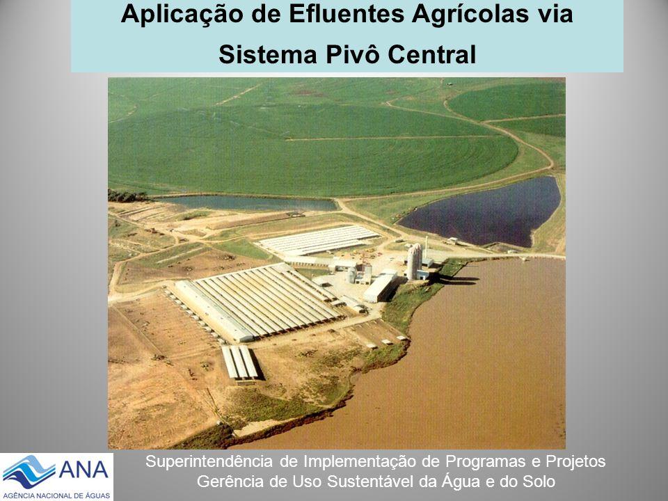 Aplicação de Efluentes Agrícolas via