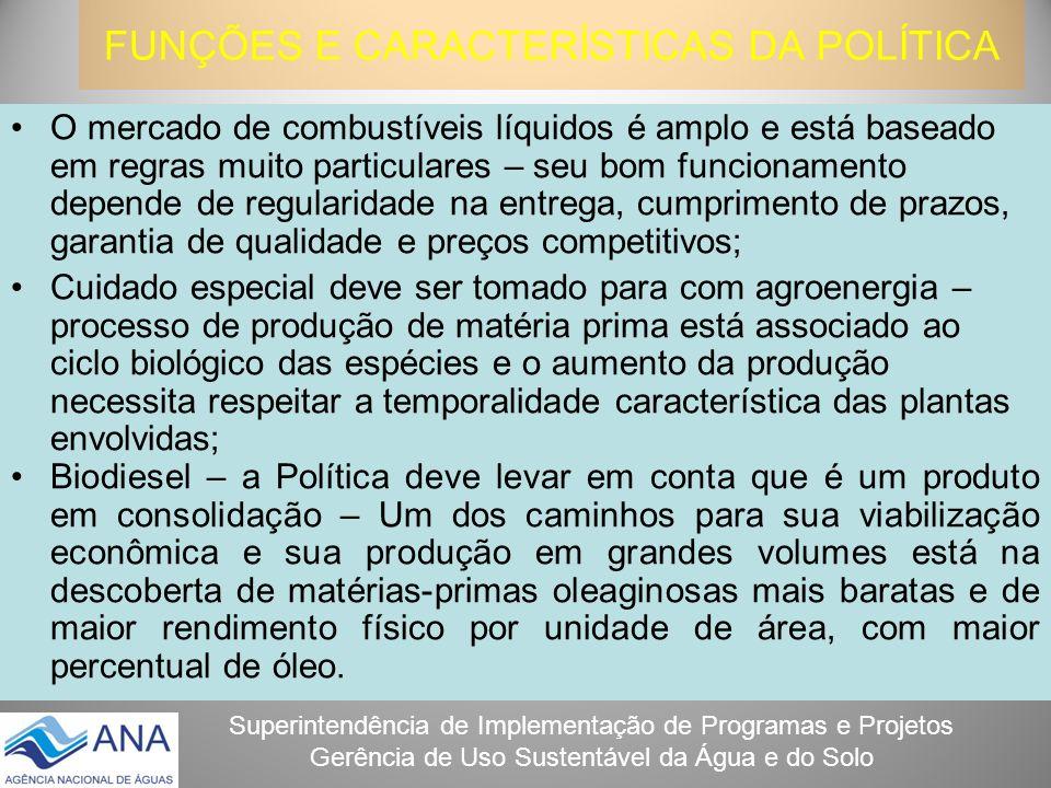 FUNÇÕES E CARACTERÍSTICAS DA POLÍTICA
