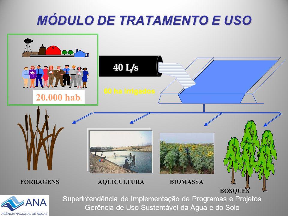 MÓDULO DE TRATAMENTO E USO