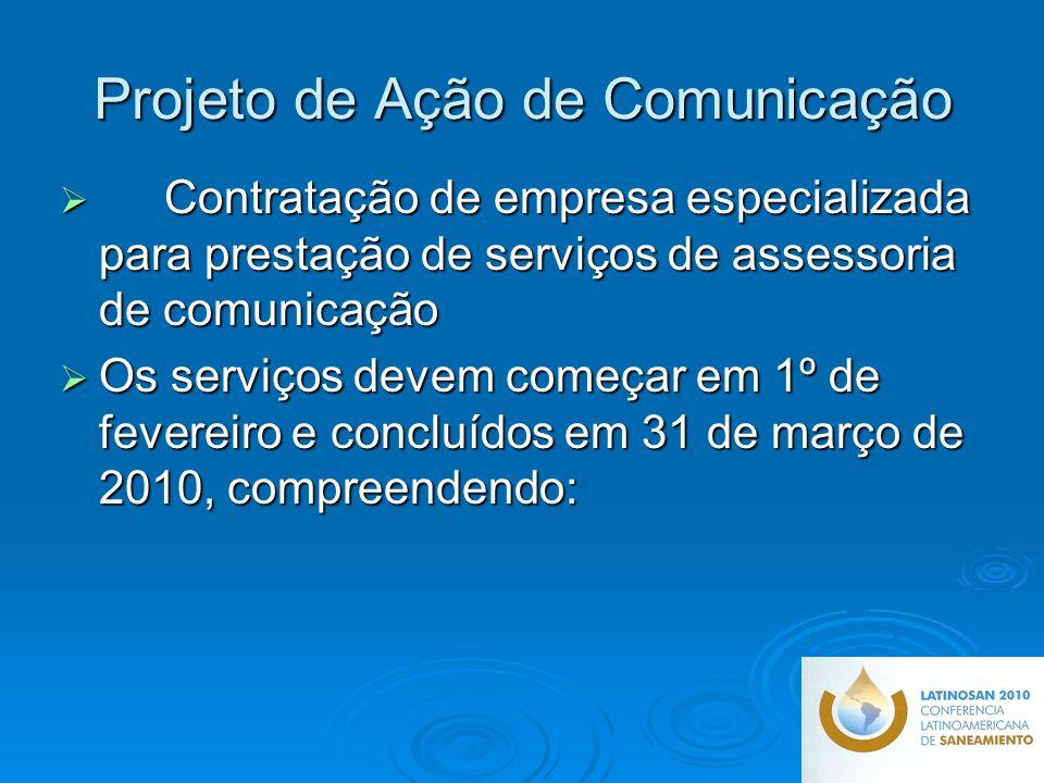 Projeto de Ação de Comunicação