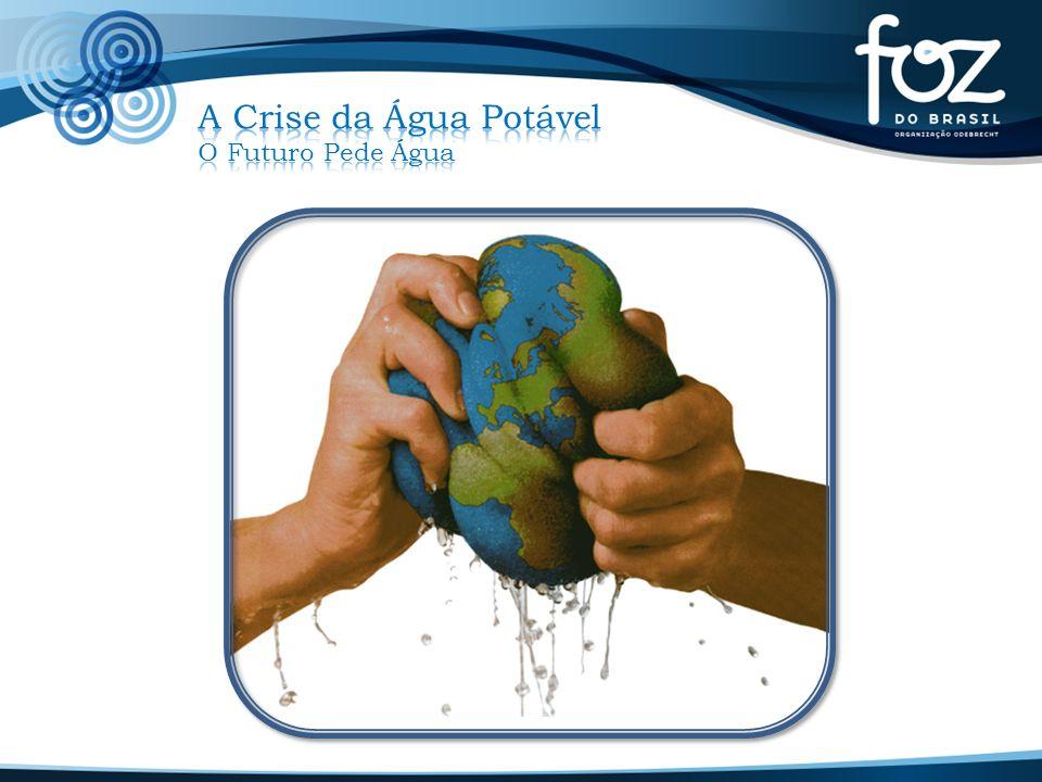 A Crise da Água Potável O Futuro Pede Água
