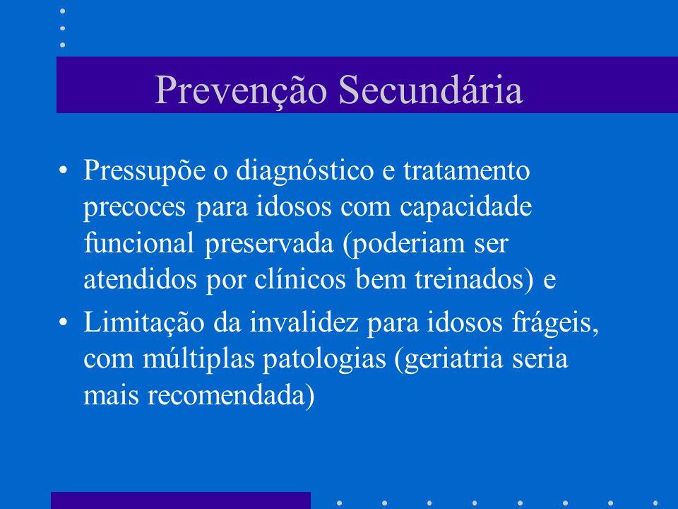 Prevenção Secundária
