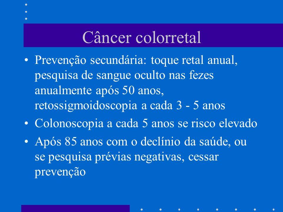 Câncer colorretal
