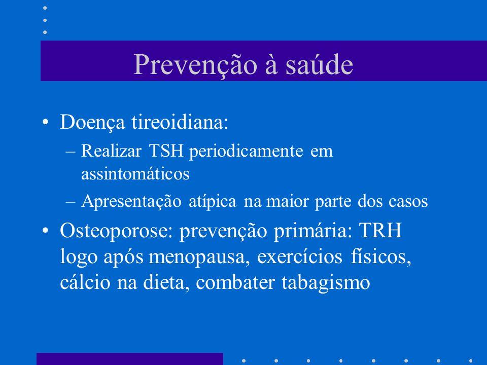 Prevenção à saúde Doença tireoidiana: