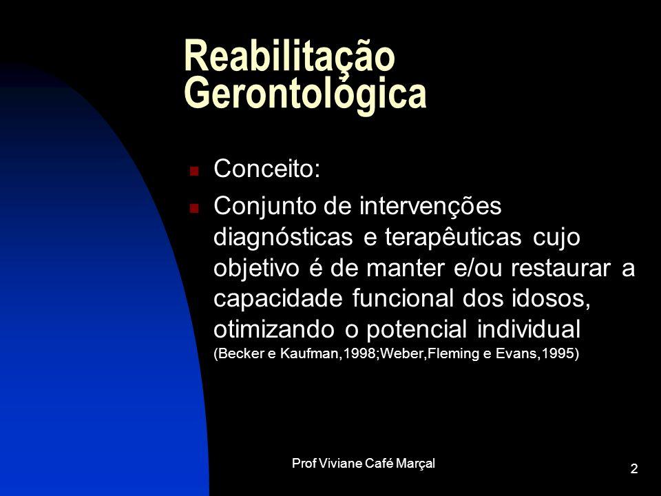Reabilitação Gerontológica
