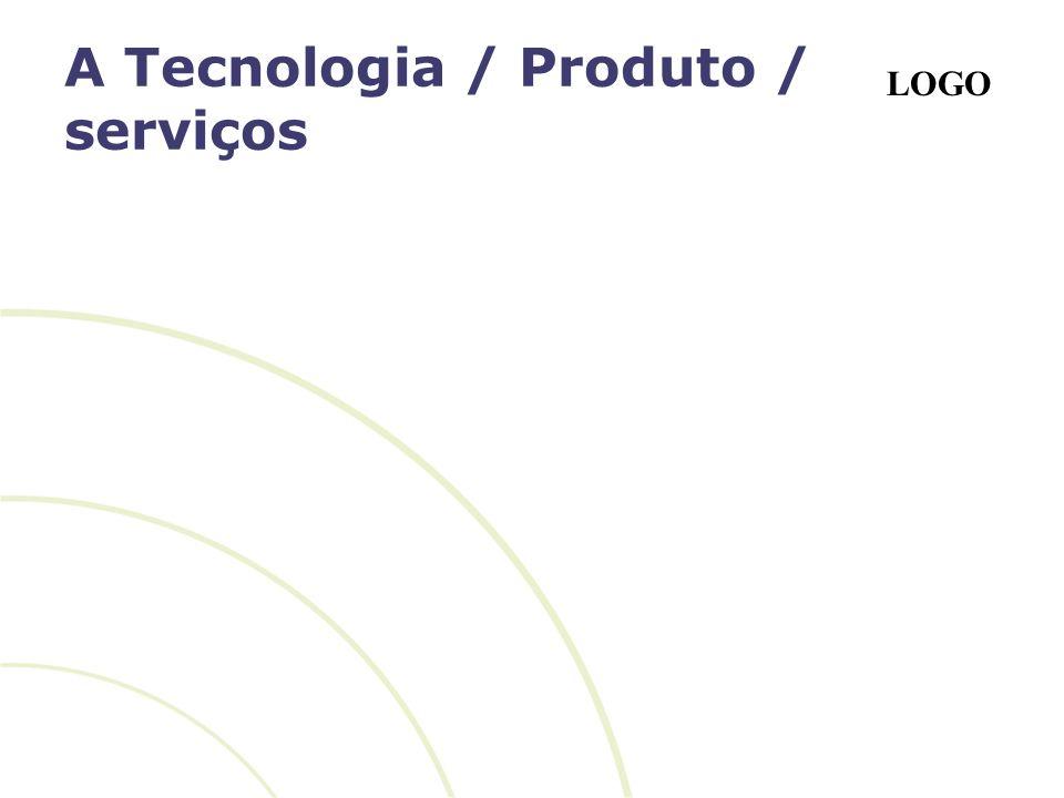 A Tecnologia / Produto / serviços
