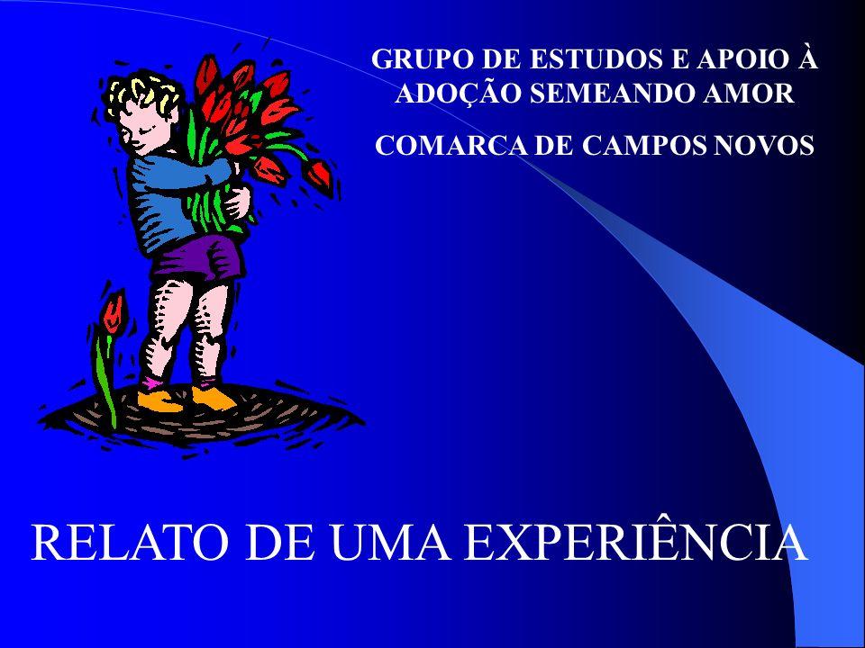 RELATO DE UMA EXPERIÊNCIA