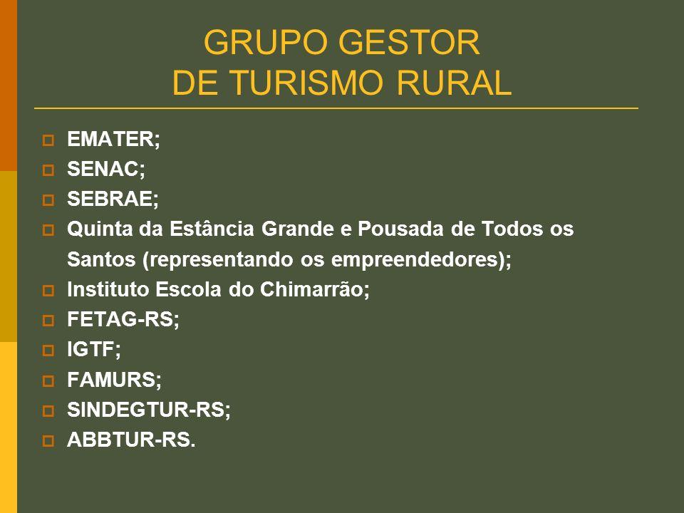 GRUPO GESTOR DE TURISMO RURAL
