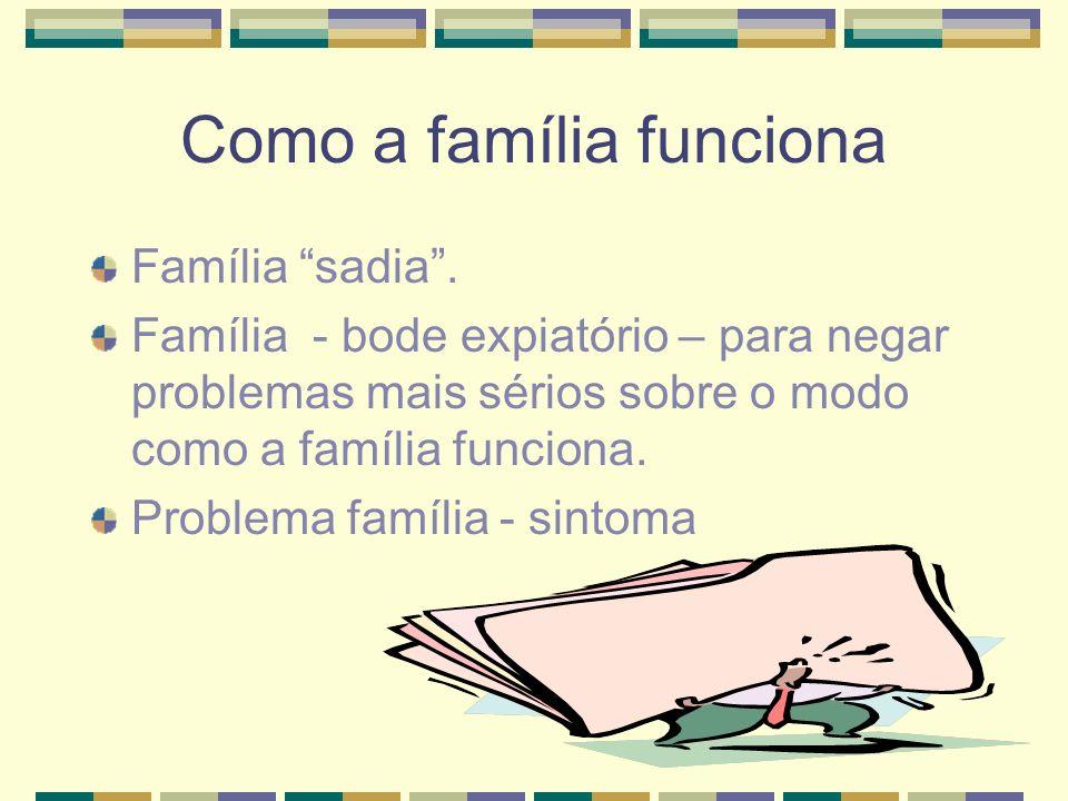 Como a família funciona