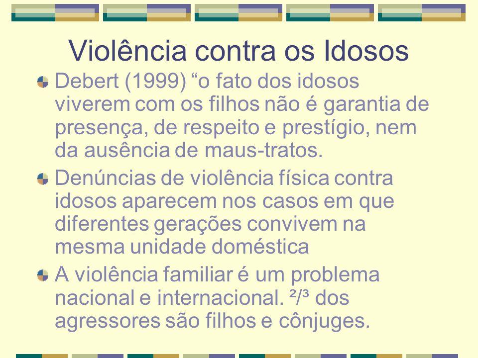 Violência contra os Idosos