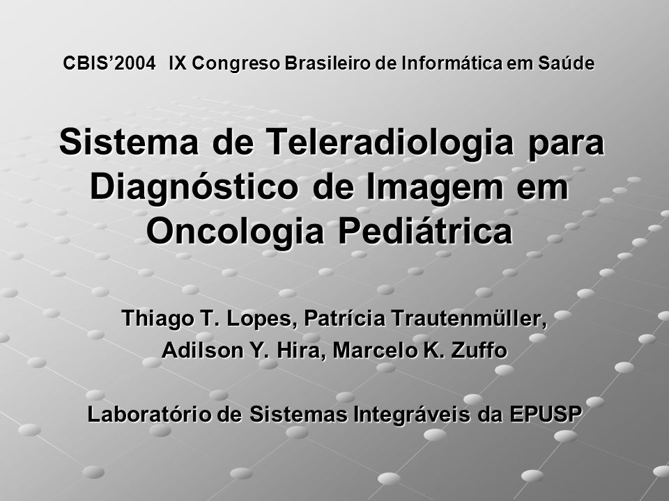 Thiago T. Lopes, Patrícia Trautenmüller,