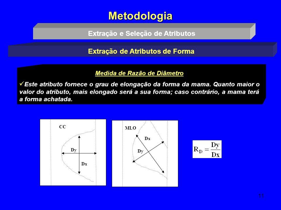 Metodologia Extração e Seleção de Atributos