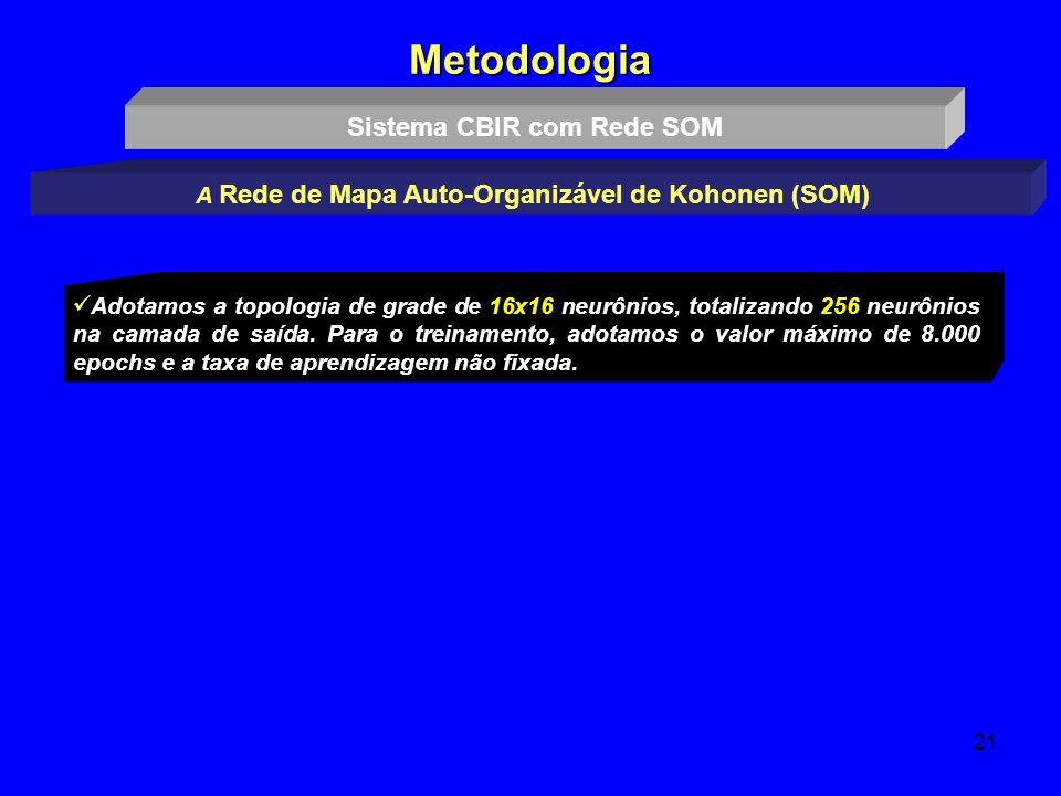 Metodologia Sistema CBIR com Rede SOM