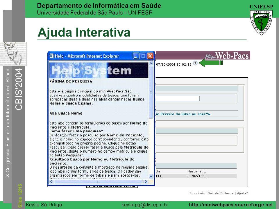 Ajuda Interativa Slide 12/15