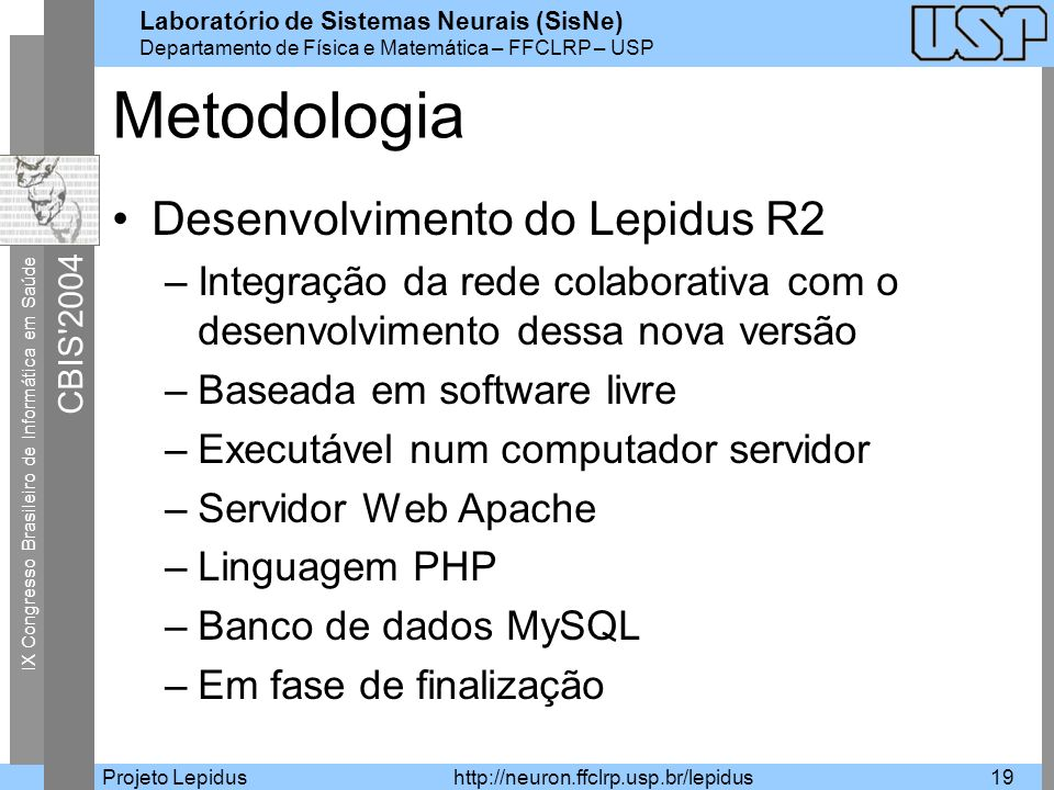 Metodologia Desenvolvimento do Lepidus R2