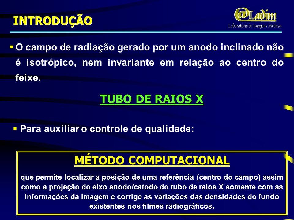 TUBO DE RAIOS X MÉTODO COMPUTACIONAL