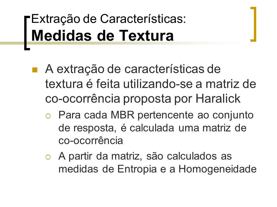 Extração de Características: Medidas de Textura