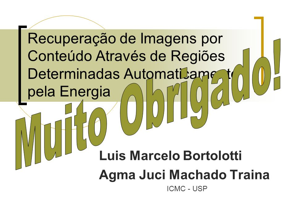 Luis Marcelo Bortolotti Agma Juci Machado Traina ICMC - USP