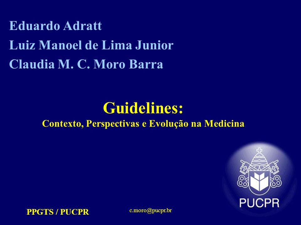 Guidelines: Contexto, Perspectivas e Evolução na Medicina