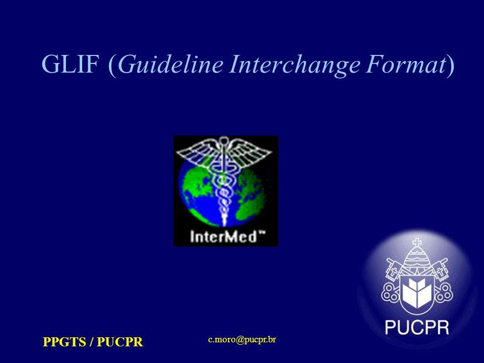 GLIF (Guideline Interchange Format)