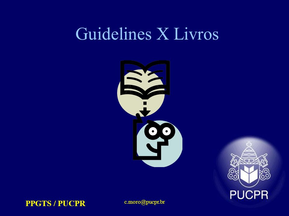Guidelines X Livros PPGTS / PUCPR c.moro@pucpr.br