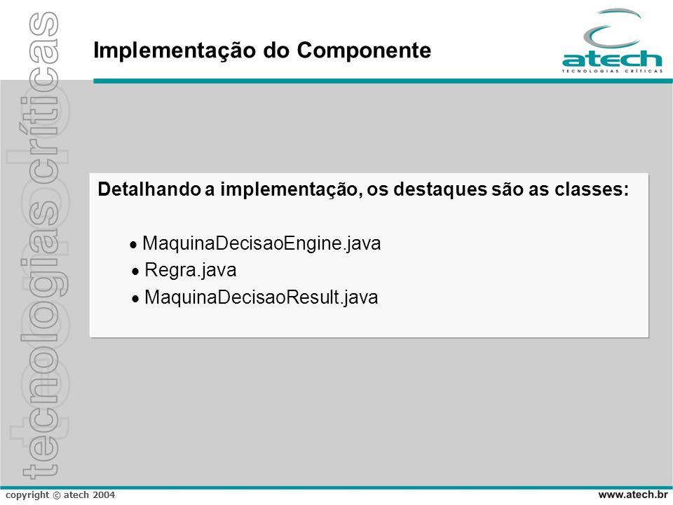 Implementação do Componente