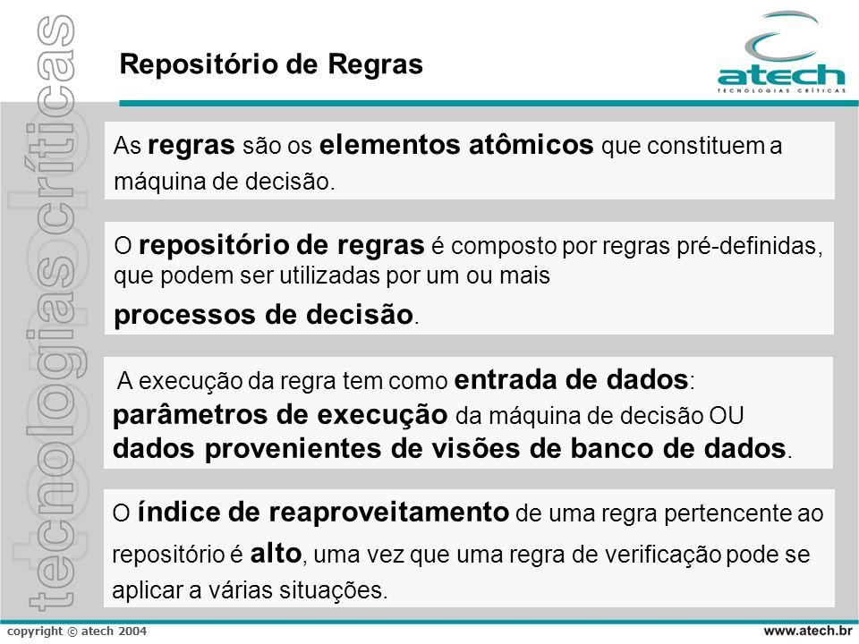 parâmetros de execução da máquina de decisão OU