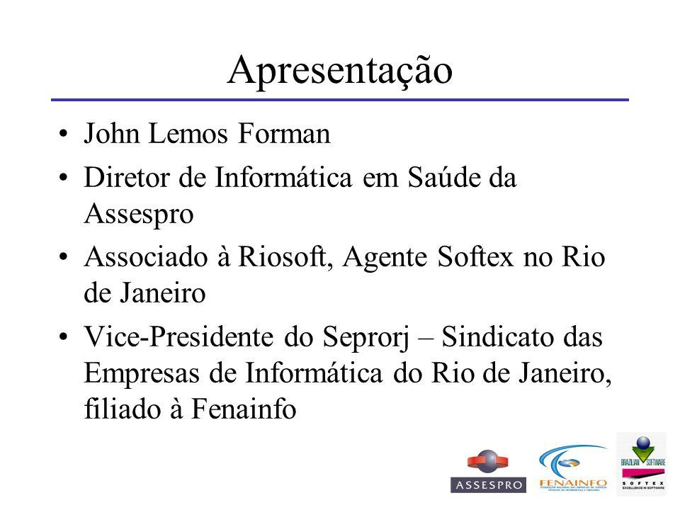 Apresentação John Lemos Forman