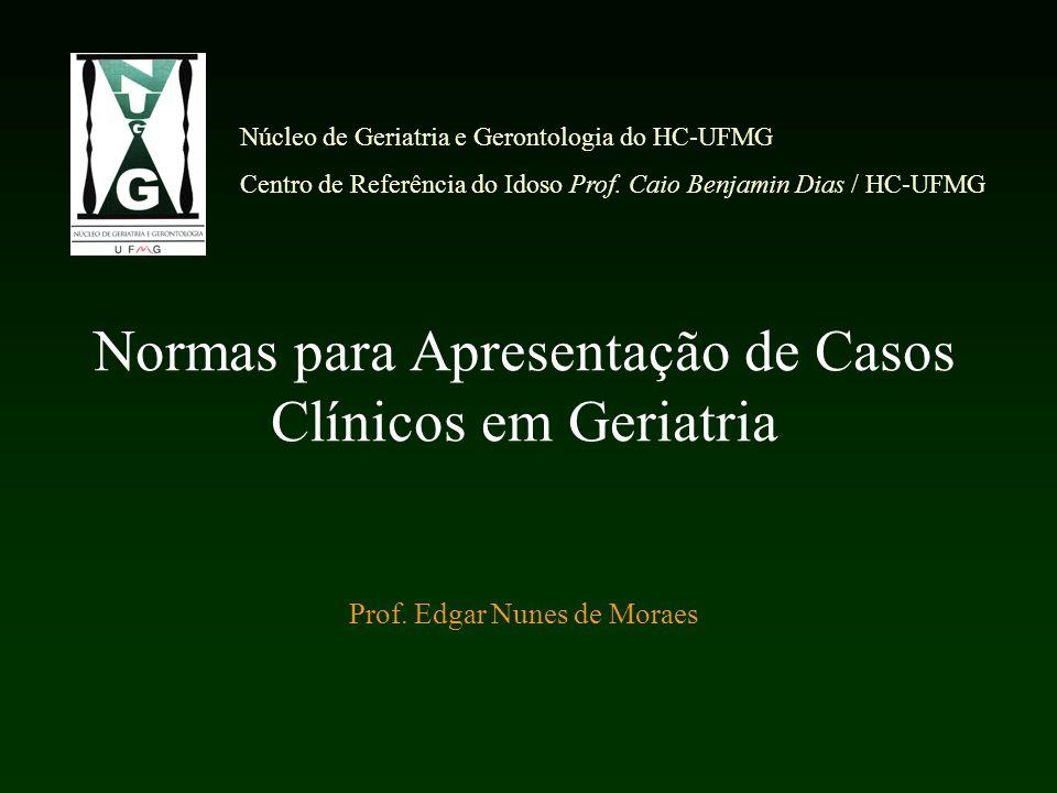 Núcleo de Geriatria e Gerontologia do HC-UFMG