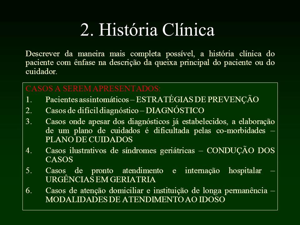 2. História Clínica