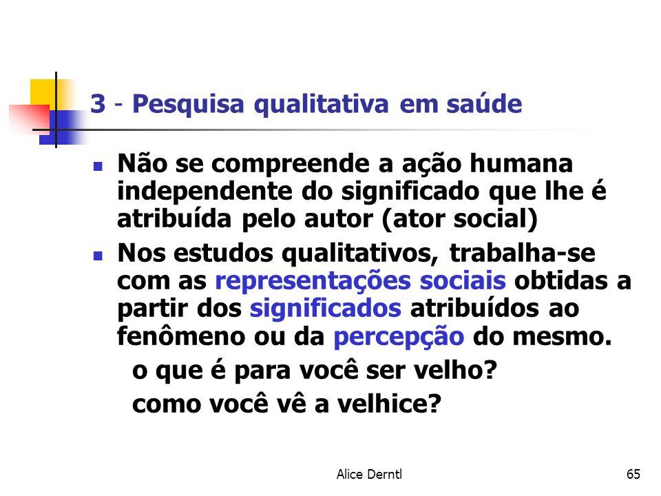 3 - Pesquisa qualitativa em saúde