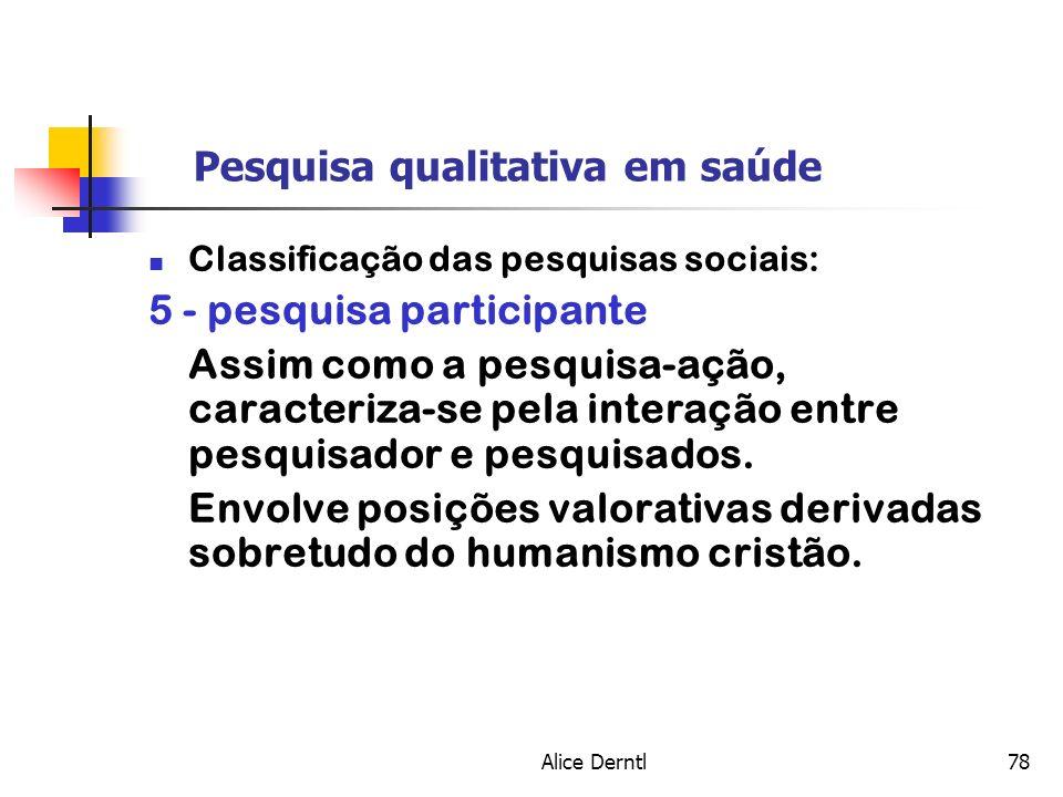 Pesquisa qualitativa em saúde