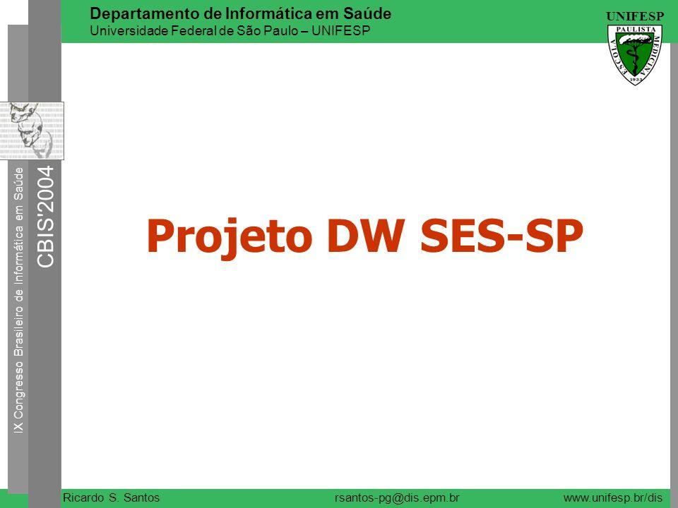 Projeto DW SES-SP