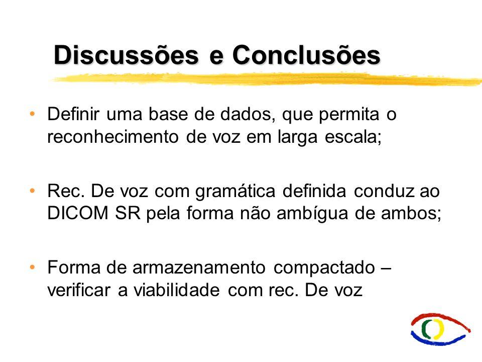 Discussões e Conclusões