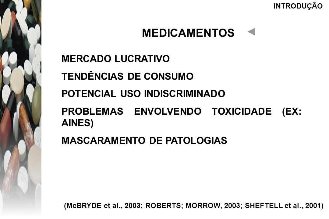 MEDICAMENTOS MERCADO LUCRATIVO TENDÊNCIAS DE CONSUMO