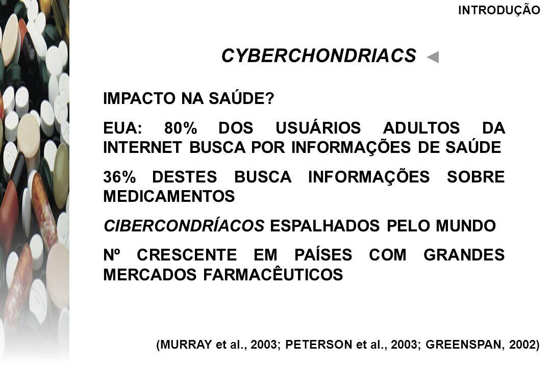 CYBERCHONDRIACS IMPACTO NA SAÚDE