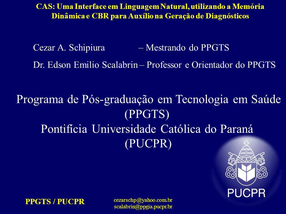 Programa de Pós-graduação em Tecnologia em Saúde (PPGTS)