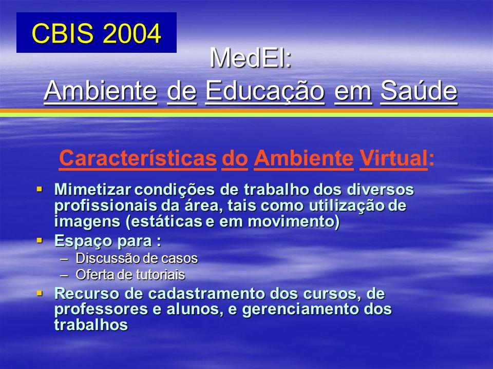Ambiente de Educação em Saúde
