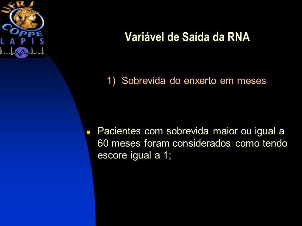 Variável de Saída da RNA