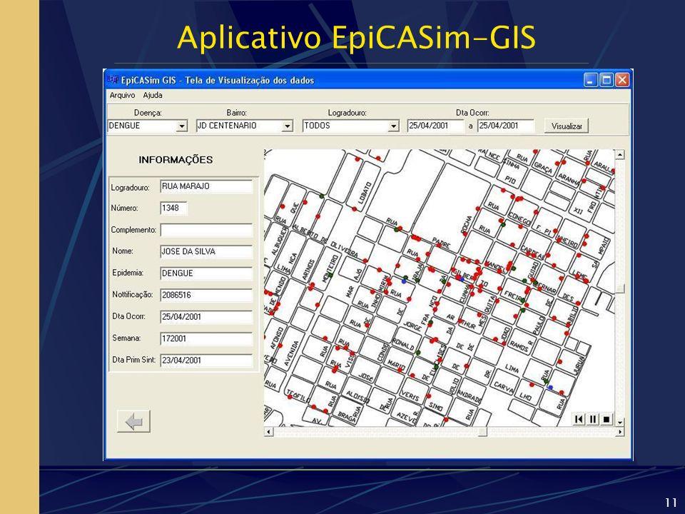 Aplicativo EpiCASim-GIS