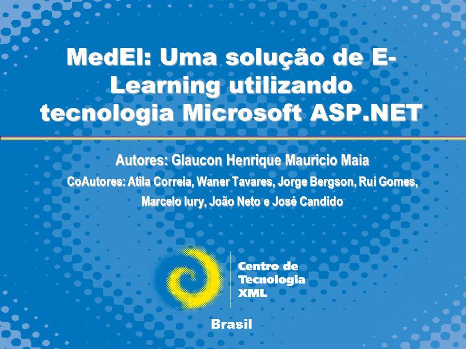MedEl: Uma solução de E-Learning utilizando tecnologia Microsoft ASP