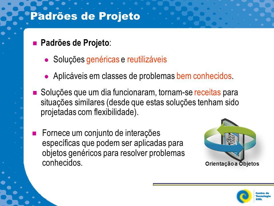 Padrões de Projeto Padrões de Projeto: