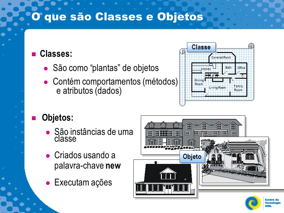 O que são Classes e Objetos