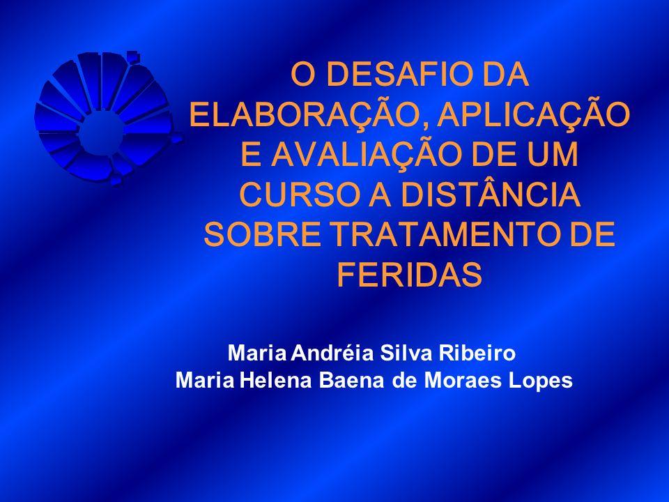 Maria Andréia Silva Ribeiro Maria Helena Baena de Moraes Lopes